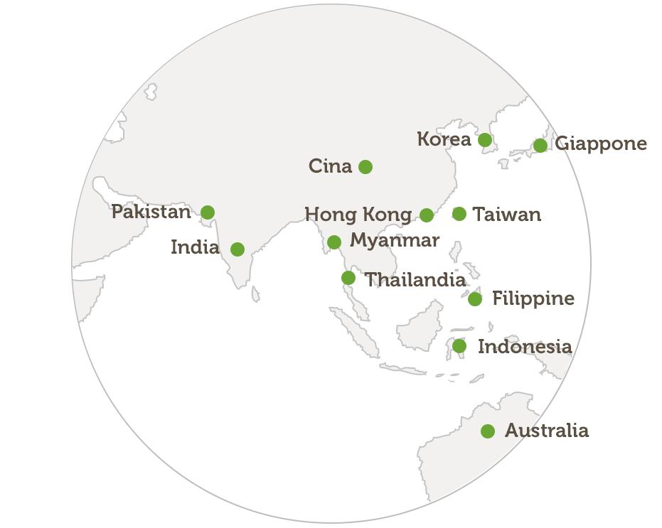 Oceania ed Estremo Oriente